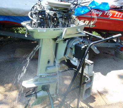 1984 evinrude 35hp sold