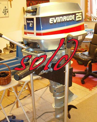 1978 Evinrude 25 for sale