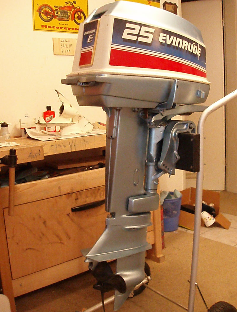 1978 Evinrude 25 for sale