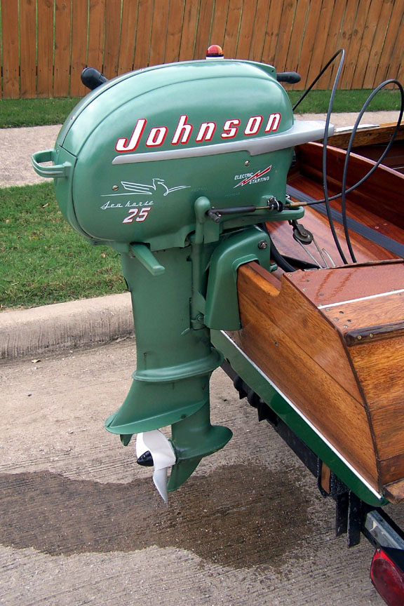 Antique, classic, modern 2-stroke outboards