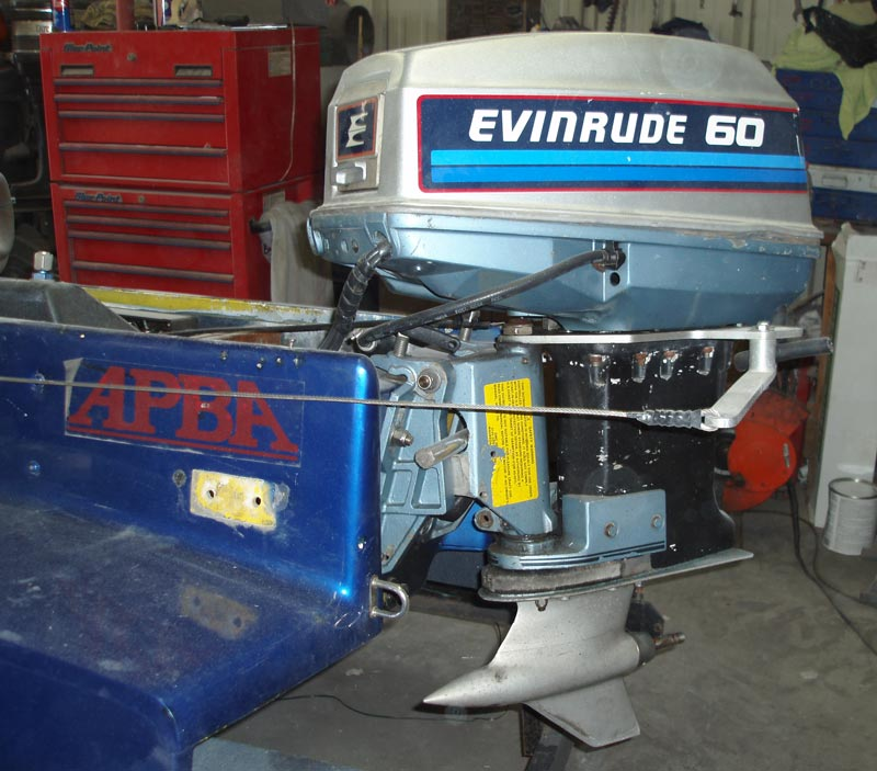 25 Hp Evinrude For Sale >> Darrell's SST-45 Class